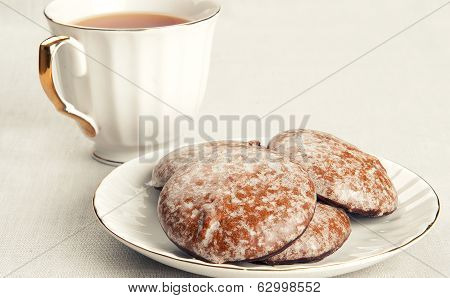 Honey-cakes And Tea
