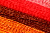 Color wool yarn