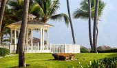 stock photo of gazebo  - Gazebos - JPG