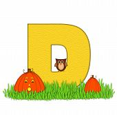 Alphabet Pumpkin Patch D