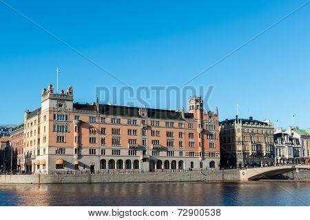 Rosenbad, Government Offiice in Stockholm, Sweden