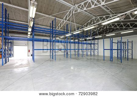 Empty Storage Room