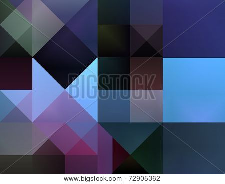Abstract Artistic Square Pattern