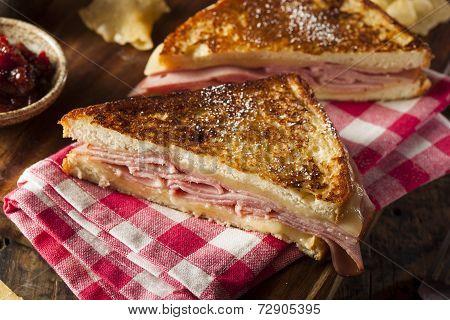 Homemade Monte Cristo Sandwich