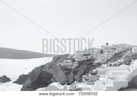 Oia village on the island of Santorini