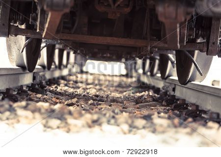 Train Run Over
