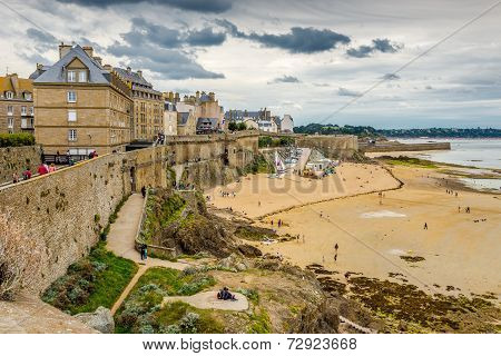 View At Saint Malo.