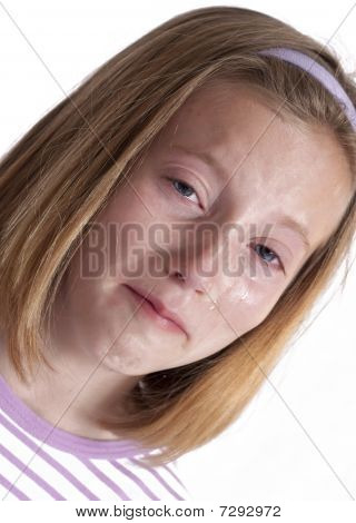 heartbroken little girl