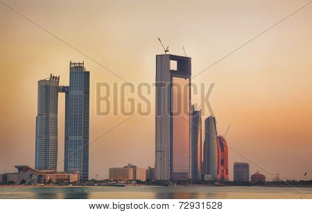 Buildings and hotel