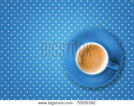 Coffee Cup Pois