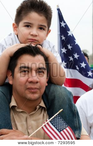 Immigration Rally In Washington