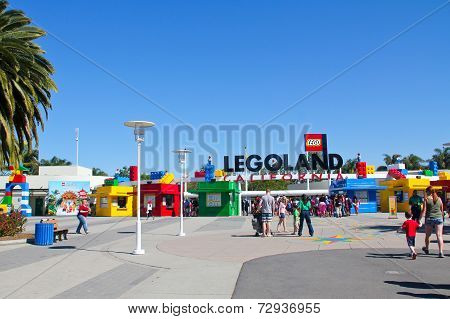 Legoland in Carlsband California USA