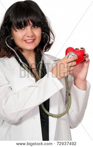 Beautiful Woman Cardiologist