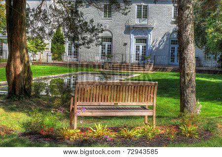 Backyard Landscape (hdr Image)