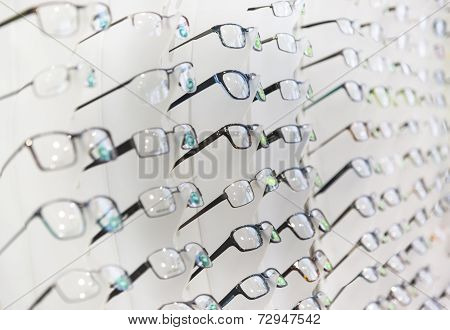 Glasses On Display