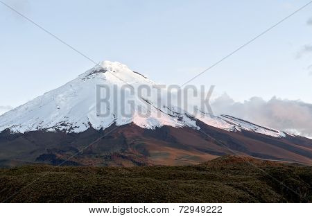 Cotopaxi Volcano. Andean Highlands Of Ecuador, South America