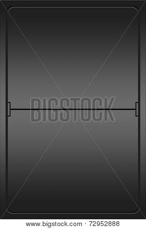 Blank Mechanical Leter Indicator