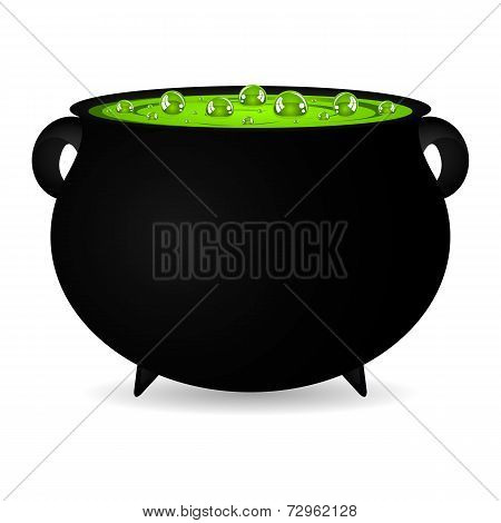 cauldron witches potion for Halloween