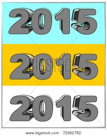 New Year In 3D