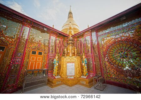 Sutaungyai Pagoda In Mandalay Hill.