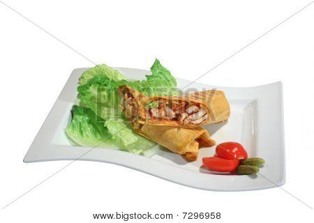 Burrito With Chicken