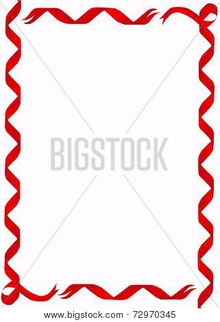 Red Ribbon Border