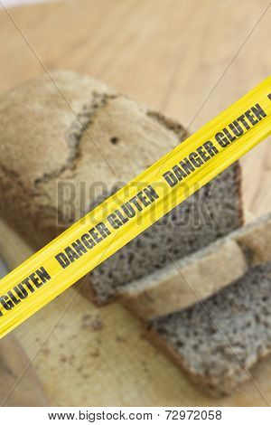 Danger Gluten Cordon Tape