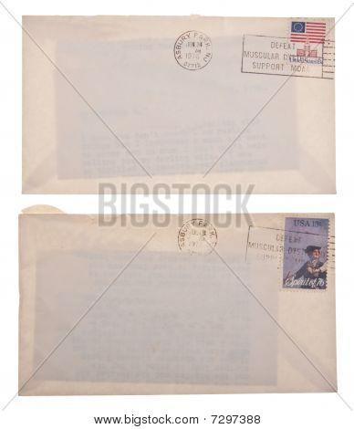 Zwei Briefe von 1975