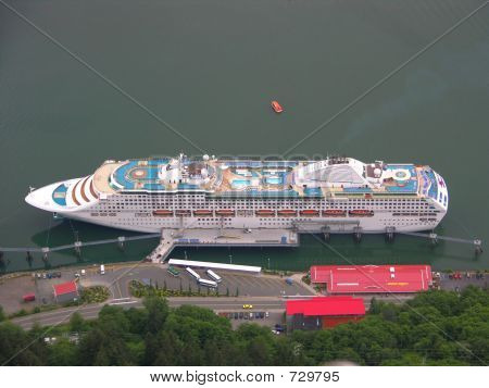 Cruise Ship Docked