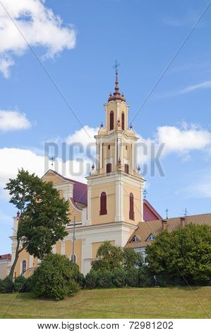 Church Of The Finding Of The Holy Cross Formerly Bernard In Grodno, Belarus