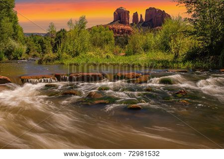 Cathedral Rock In Sedona, Arizona
