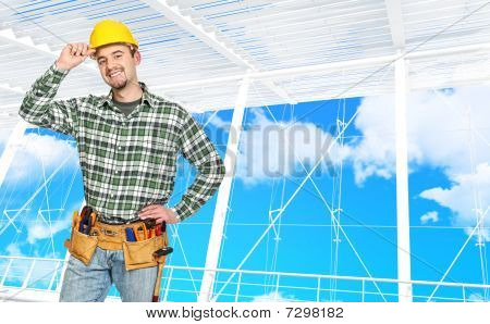 Confident Manual Worker