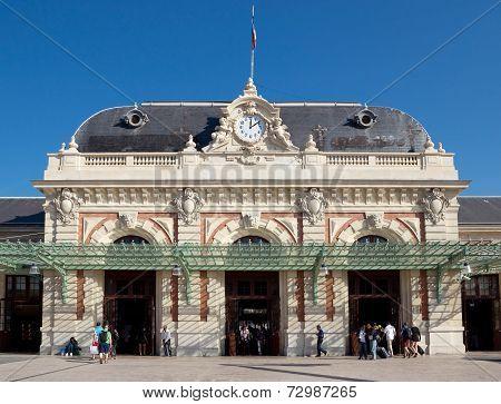 Gare De Nice - Ville Is Main Railway Station