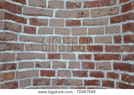 Texture of a brick wall.