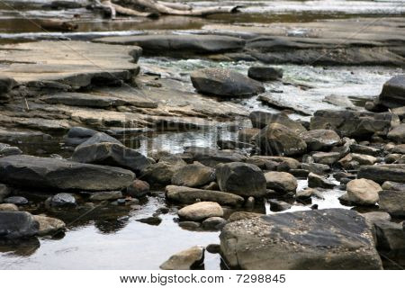 Rock Stream Bed