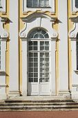 stock photo of pilaster  - Fine main entrance decoreted with sculpture details - JPG