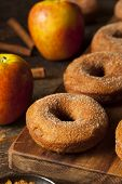 pic of cider apples  - Warm Apple Cider Donuts Ready to Eat - JPG