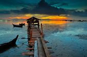 image of malaysia  - This jetty located at Jelutong - JPG