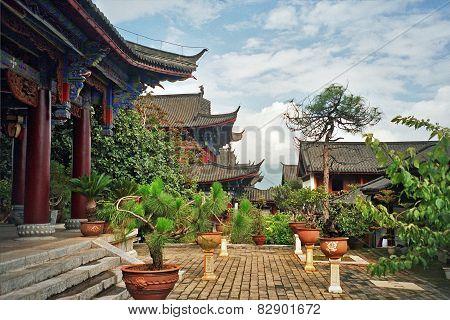 View Of Palace In Lijiang, China