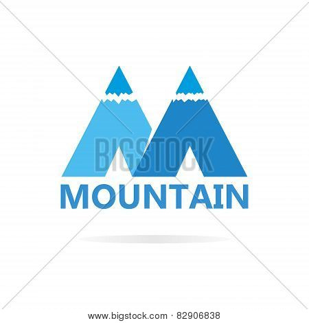 Mountains in style of M