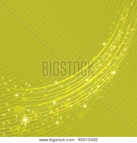 Spring Abstract Vector Background