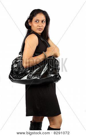 Stylish Shopping Lady