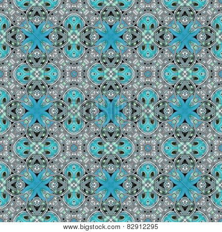 Decorative Floral Motif Pattern