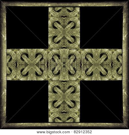 Ancient Mystic Symbol Cross