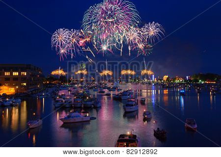 Bay City Fireworks