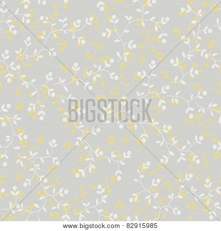 Seamless Floral Pattern. Abstract Background.