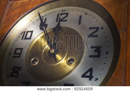 Historic wall clock
