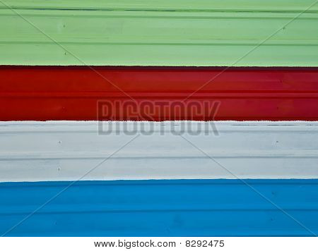 The Color Of  Zinc Fence