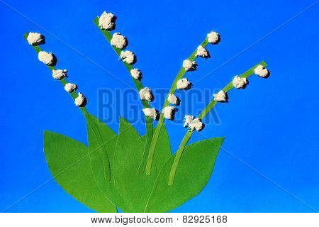 Children's Odd With Tender Flowers Of Lilies Of The Valley