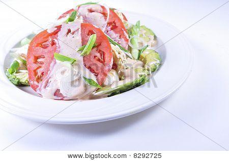 Beefsteak Tomato Salad